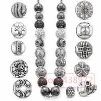 Wholesale new women men gift hot sale thomas Karma Beads tsz18 snake bead ts necklaces bracelets beads Super deal fashion