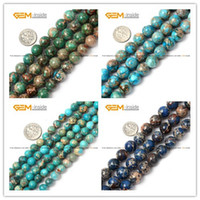 agate blue lace - Crazy Lace Agate Beads Blue Round Selectable Size Natural Stone Beads For Jewelry Making Diy Bracelet Strand
