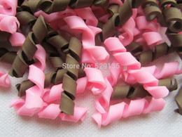 Wholesale Min order is mix order Swirly Chocolate Deco Toppings for Phone Decoration DIY mm