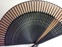 asia frames - New arrival Hand Fan Crafts Asia Chinese Fan Silk with Clip color frame female fan