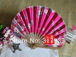 Wholesale-[I AM YOUR FANS]Free shipping30pcs lot fashion luxury Seashell shape silk hand fan Best for Kimono