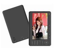 Wholesale PU Leather case black GB INCH screen DIGITAL E BOOK READER MOVIES MUSIC