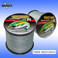 Wholesale VICTOR Spectra Extreme PE M LB Stream Fishing dacron Braided Fishing Line Lbs