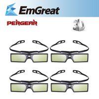 benq dlp - 4pcs G15 DLP D Active Shutter Glasses For Optoma Sharp LG Acer BenQ DLP LINK DLP Link Projectors gafas d