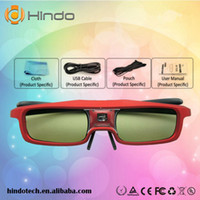 active sync - Cool Fashional Style D Eyewear Active Shutter Glasses DLP LINK SYNC Operation For Optoma HD67N GT750 XL Projector