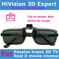 aired on tv - Passive Real D Circular polarized Clip on d glasses for Real D movie theater or home D TV by China Post Air Mail