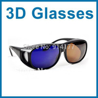 3d converter - Good Quality Amber Blue D glasses for D movie game d converter D plastic Glasses