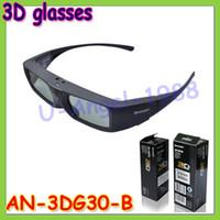 aquos led - New New D glasses for Sharp AN DG30 B Active Rechargeable D Glasses Sharp AQUOS LCD LED TVs