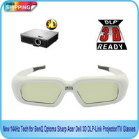acer tech - New Hz Tech for BenQ Optoma Sharp Acer Dell D DLP Link Projector TV Glasses