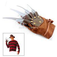 batman gloves - Halloween Props Gift Product Freddy Krueger Glove From A Nightmare on Elm Street