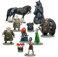batman brave - Brave Toy PVC Action Figures doll Merida Black Bear Collections Children gifts