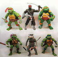 animated turtle - Animation around Teenage Mutant Ninja Turtles TMNT87 animated version movable nostalgic toy doll