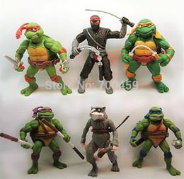 Wholesale Animation around Teenage Mutant Ninja Turtles TMNT87 animated version movable nostalgic toy doll
