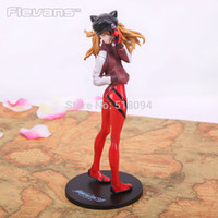 asuka langley figure - Anime EVA Neon Genesis Evangelion Soryu Asuka Langley PVC Action Figure Collection Model Toy CM EVFG023