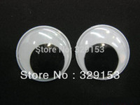 Wholesale mm Googly Eye Wiggle Doll Toy Eyes Movable Eye Plastic Eyes Black