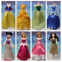 Wholesale new Princess Dress court dress Doll Clothes for Barbie Doll