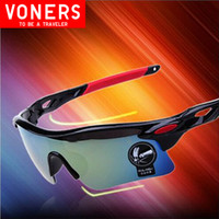 Wholesale High Quality UV Protection Multi colored Sunglasses Professional riding eyewear bicycle cycle oculos for masculino Free Shiping