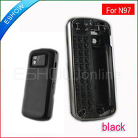 Wholesale Full housings faceplates Cover with QWERTY Keypad for Nokia N97 New Black A0639