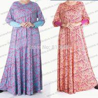 muslim clothing for men - Plus Size Cotton Muslim abaya jilbab islamic clothing for women MU10026
