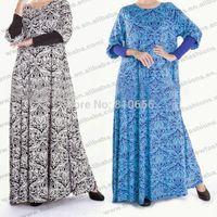 Wholesale Mu10026 Fancy abaya islamic clothing summer fashion abaya muslim niqab modest wear jilbab women cloth kaftan