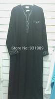muslim clothing for men - muslim abaya men s robe abaya in dubai kaftan jilbabs and abayas muslim dress islamic clothing for men black abaya