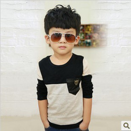 2015 New Fashion Kids Boys Clothes Spring And Fall HOT Multicolor Children'S Blouses & Shirts Boy Long Sleeves Big Size