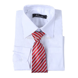Wholesale Factory directly selling fashion hot sale formal boy shirt for matching boy suit