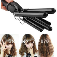 best curling wand - 2015 New Women Best Gift Hair Styler amp Curling Tong Ceramic Barrel Waving Wand Hair Curler Roller