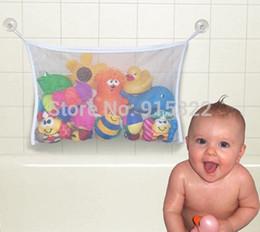 Wholesale Kids Baby Bath Tub Toy Bag Hanging Organizer Storage Bag Large x cm