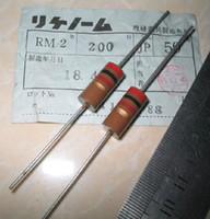 audio resistors - Original RIKEN RM W R Audio carbon film resistor