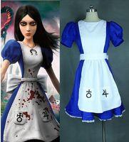 alice madness returns - New Alice Madness Returns Alice Cosplay Costume Custom Dress
