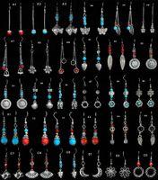 tibetan jewelry - Tibetan Silver earrings fashion earring mix order Jewelry