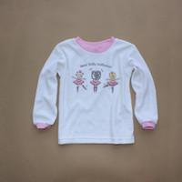 100% cotton shirt fabric - ITALY lupilu baby girl long sleeve T shirt basic shirt single face towel cloth fabric