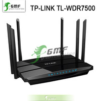 ac gigabit router - Chinese firmware TP LINK Wireless Router AC Dual Band Gigabit TL WDR7500 Mbps ac with packing box