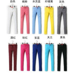 Plus size colored bootcut jeans – Global fashion jeans models