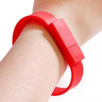 Wholesale wrist u disk U Drives USB drives colourfull wrist G G G G G cool U flash disk brand new