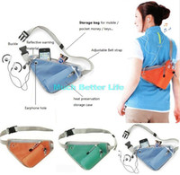 fanny packs - Portable Triangle Women Men Outdoor Sports Cycling Riding Hiking Travel Climbing Bottle Pouch Waist Belt Strap Bag Fanny Pack