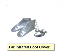 Wholesale 1 pair glove pair foot cover belt mask far infrared beauty equipment combination health care
