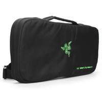 business equipment - Razer Gaming Keyboard Mouse Mouse Pad Equipment Backpack Bag Shoulder Bag For Gamers By Gamers