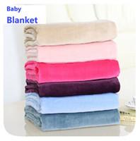 Wholesale TT BOO HOT Flannel newborn baby sleeping blanket cm Baby blanket for kids For Spring Autumn Summer