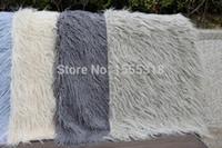 bar mats sale - newborn photography props blanket purple baby super soft plush fleece blankets cm Faux Fur wool Mat Background carpet sale