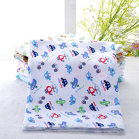 acrylic air bath - 2015 New Cute Cartoon Multi Colors Cotton Baby Air Conditioning Thin Multipurpose Blanket Bedding Bath Towels for Babies
