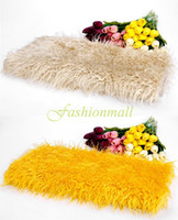 baby prop basket - Faux fur blanket basket stuffer mongolia fur photography props newborn baby kids photography props Colors