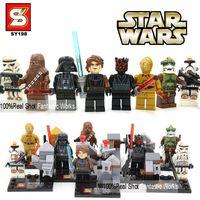 star wars - Star Wars Figures SY198 Star Wars Action Figures Toys with Star Wars Lightsaber Building Blocks Brick Star Wars Toys Minifigures