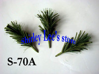 Others artificial twigs - X Realistic artificial mini pine twig branch for decoration to some countries