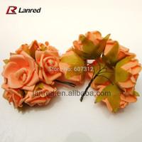 big lots scrapbooking - Orange Big Artificial Wedding Decorative PE Polyethylene Flowers Scrapbooking Flower