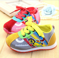 Wholesale new fall shoes children toddler shoes soft bottom baby cute cartoon images