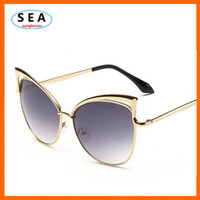 amber sea - SEA CAT EYE sunglasses women brand designer oculos de sol feminino original fashion female sun glasses s0509