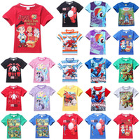 jake and the neverland pirates - jake and the neverland pirates boys t shirt summer cartoon print short sleeve new kids tops tees children t shirt clothing