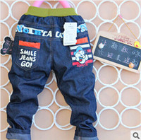 jeans wholesale price - low price cartoon children boys casual jeans pants autumn retails